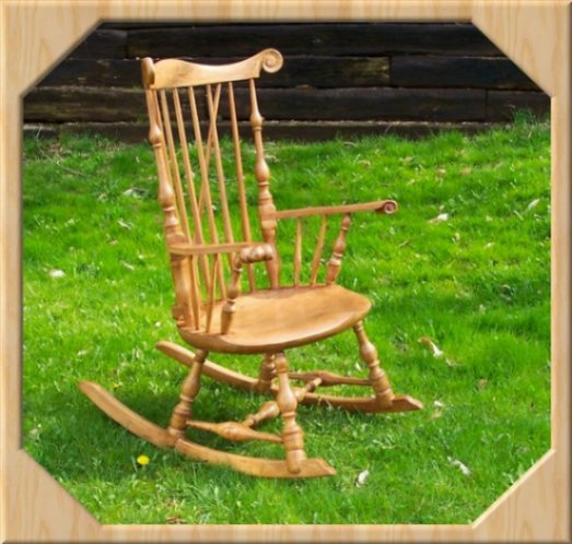 Windsor Fan Back Rocking Chair